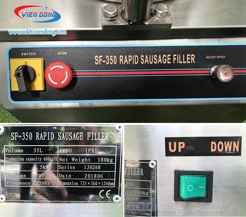 Máy đùn xúc xích tự động SF-350