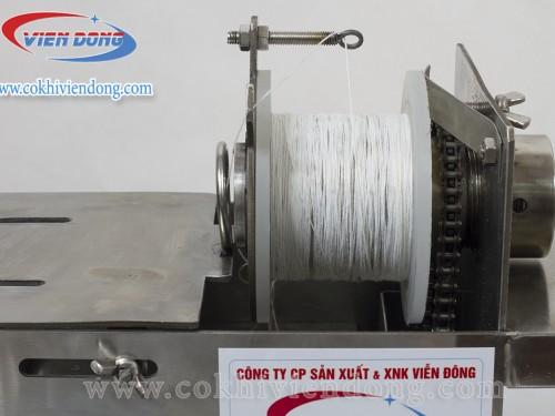 Máy buộc chỉ xúc xích dùng điện 32A
