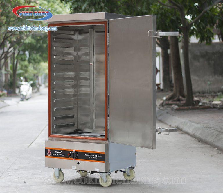 Tủ hấp giò chả bằng gas