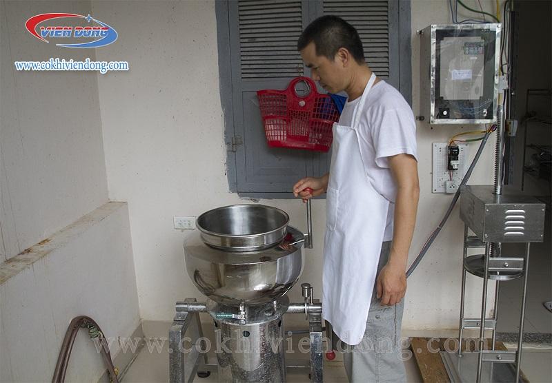 Máy xay thịt làm giò 20kg