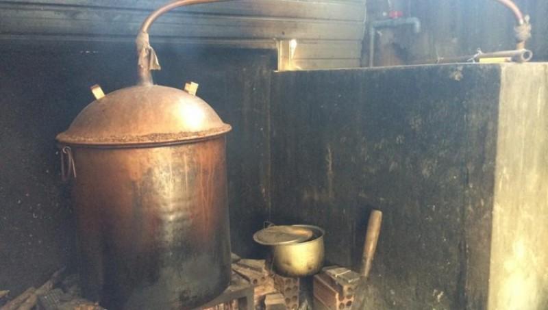 nồi nấu rượu bằng điện