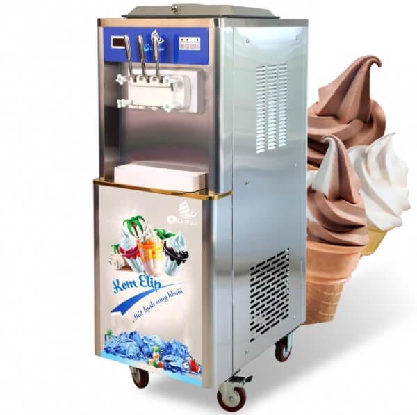 máy bán kem