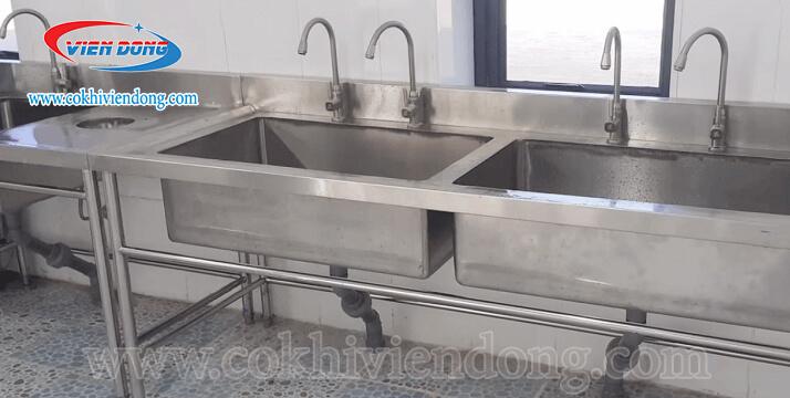 bồn rửa chén inox công nghiệp