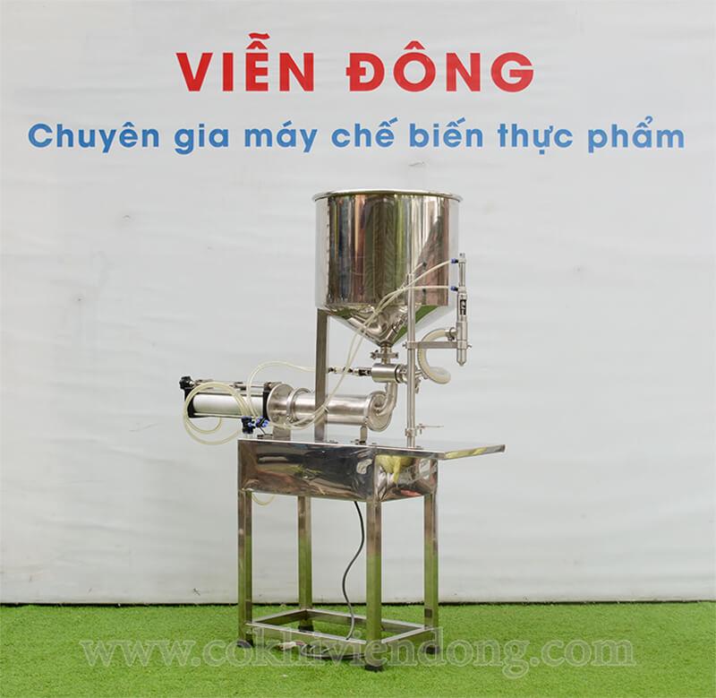 máy chiết rót mật ong