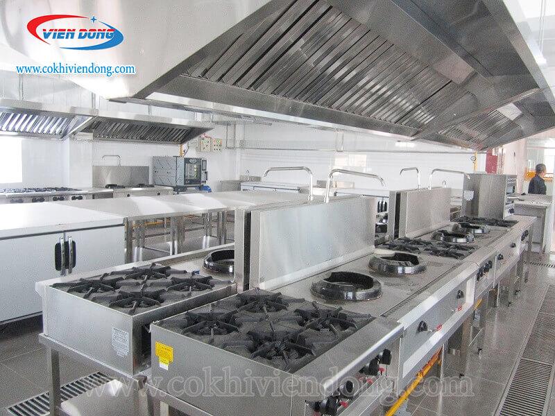 bếp âu công nghiệp 4 họng