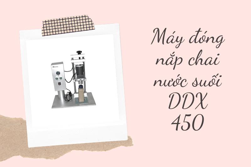 máy đóng nắp chai DDX 450