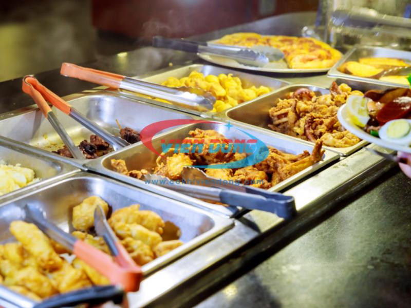 giá tủ hâm nóng thức ăn