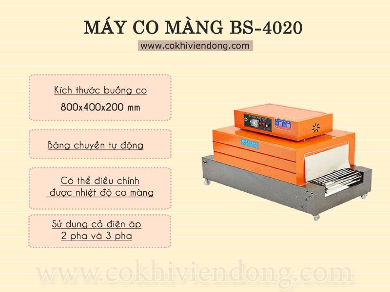 Máy co màng BS-4020