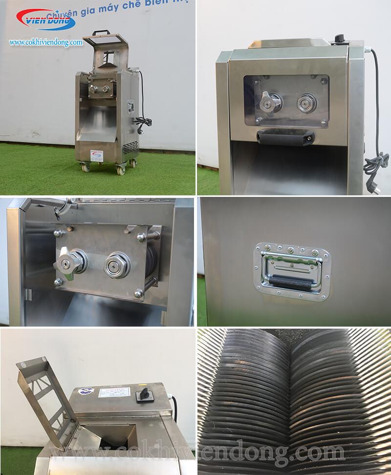chi tiết máy cắt mỡ hạt lựu